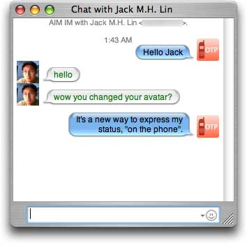 with new iChat icons